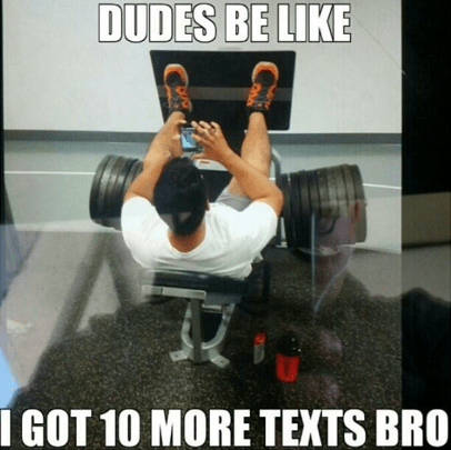 things real men don't do at the gym 6