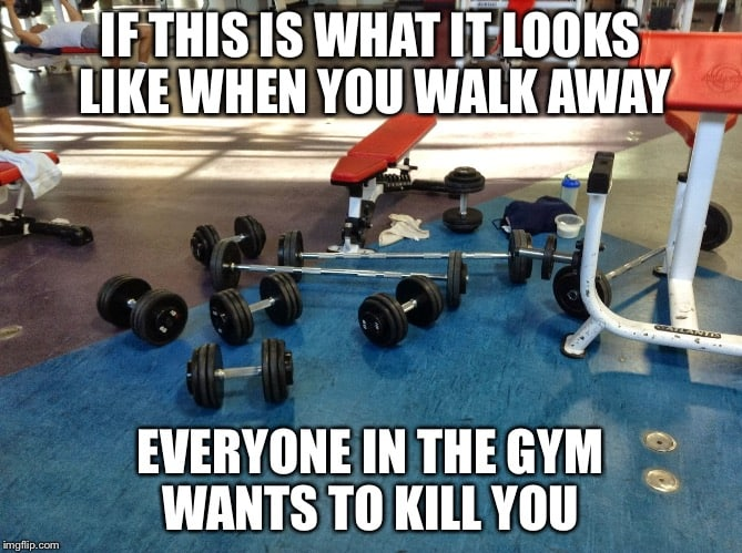 things real men don't do at the gym 5